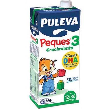 LECHE PULEVA PEQUES - 3 BRIK 1 LT