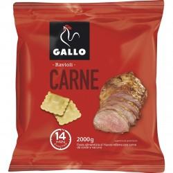 RAVIOLI CARNE GALLO CAJA 2 KG