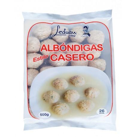 ALBONDIGA MAGRO LEDUAN 500 GRS