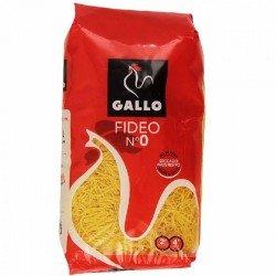 FIDEO Nº 0 FINO GALLO 500 GR