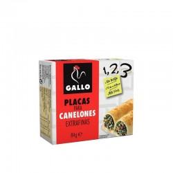 PLACA CANELONES GALLO 80 GR