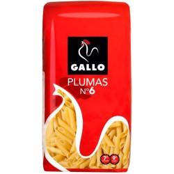 MACARRON PLUMA Nº 6 GALLO 500 GR