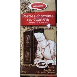 CHOCOLATE CULINARIO DULCINEA TABLETA 200 GRS