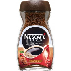NESCAFE NATURAL SOLUBLE CRISTAL 200 GRS